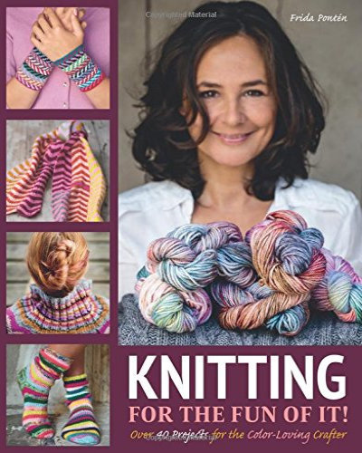 [Book: 'Knitting For The Fun Of It' by Frida Pontén]