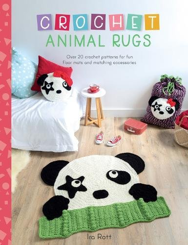 [Book: 'Crochet Animal Rugs' by Ira Rott]