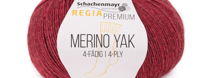 New yarn: Regia Merino Yak 4-ply