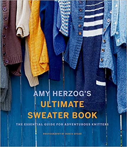 [Book: 'Ultimate Sweater Book' by Amy Herzog]
