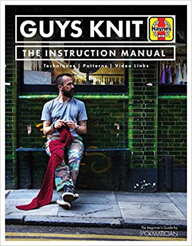 [Book: 'Guys Knit' by Nathan Taylor]
