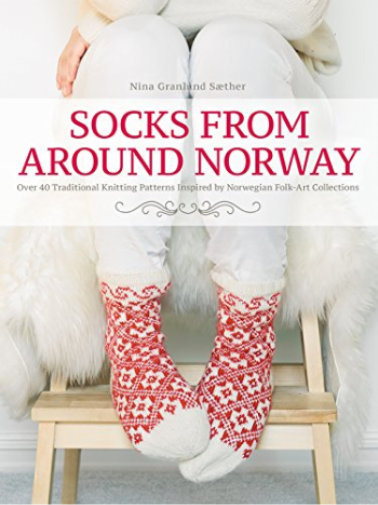 [Book: 'Socks From Around Norway' by Nina Granlund Sæther]