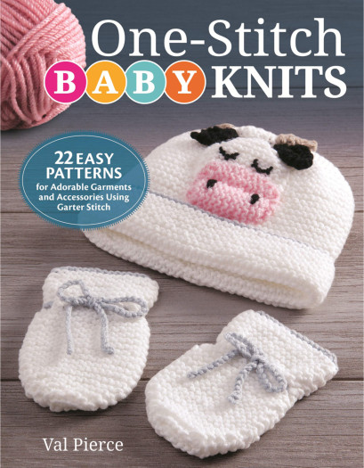 [Book: 'One-Stitch Baby Knits' by Val Pierce]