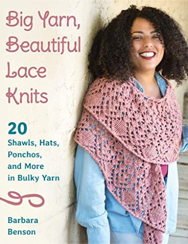 [Book: 'Big Yarn, Beautiful Lace Knits' by Barbara Benson]