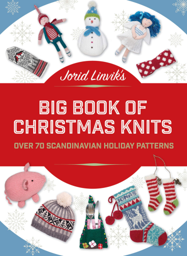 [Book: 'Big Book of Christmas Knits' by Jorid Linvik]
