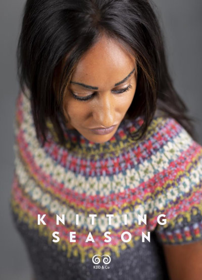 [Book: 'Knitting Season' by Kate Davies]