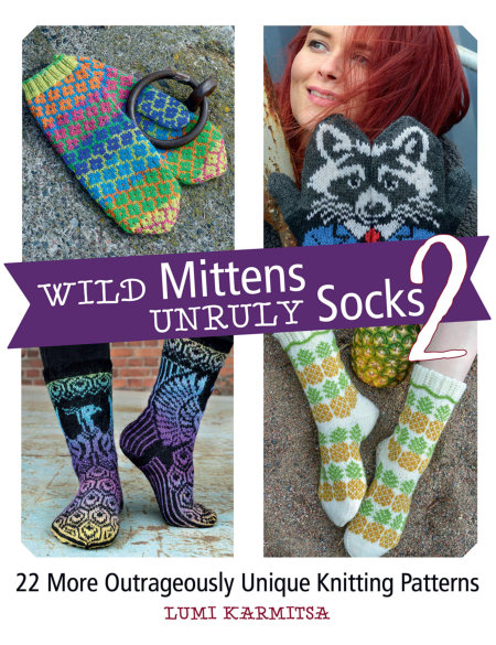 [Book: 'Wild Mittens and Unruly Socks 2' by Lumi Karmitsa]