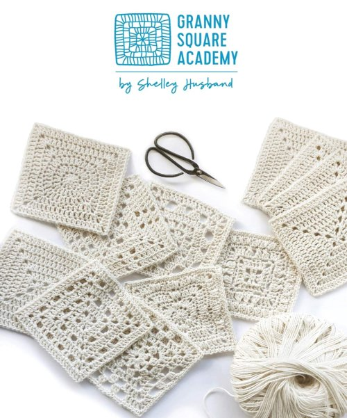 [Book: 'Granny Square Academy' by Shelley Husband]