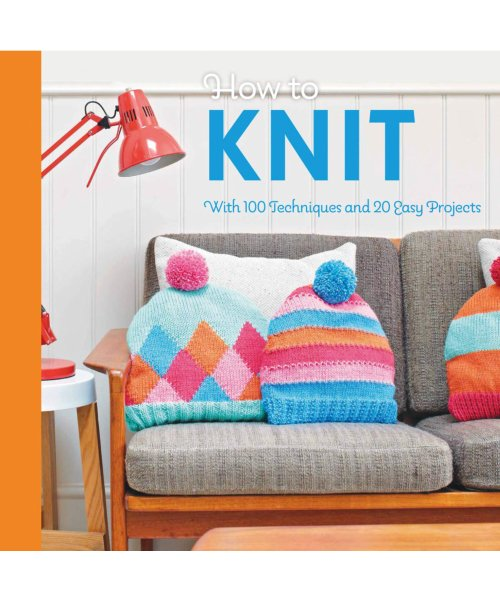 [Book: 'How To Knit' by Mollie Makes]