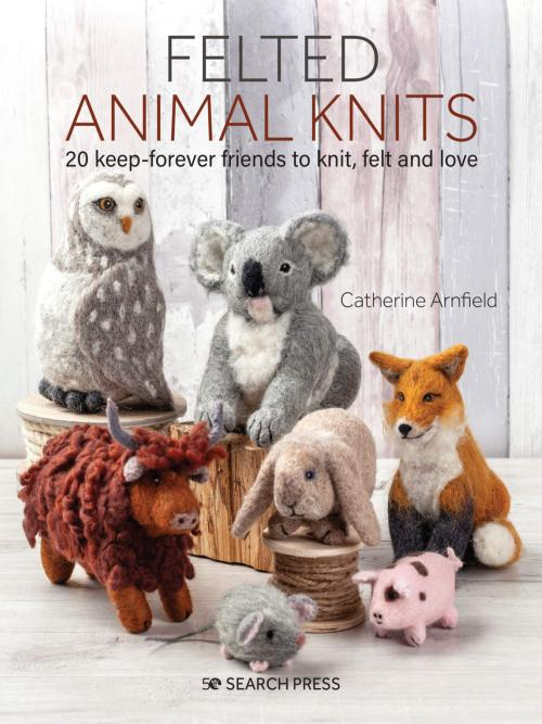 [Book: 'Felted Animal Knits' by Catherine Arnfield]