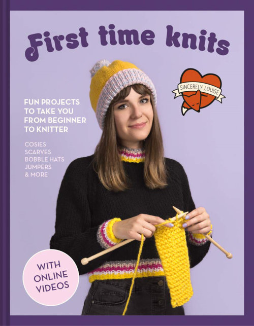 [Book: 'First Time Knits' by Louise Walker]