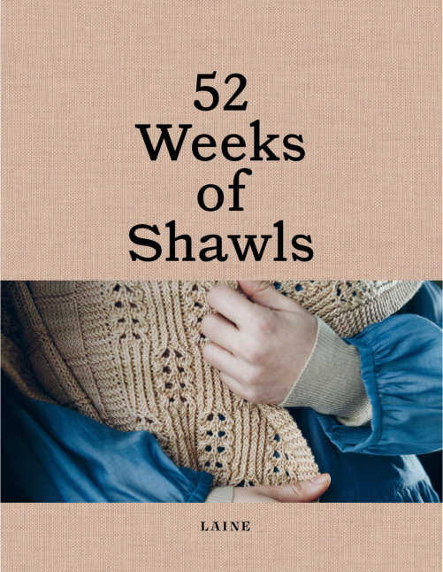 [Book: '52 Weeks of Shawls' by Laine Magazine]