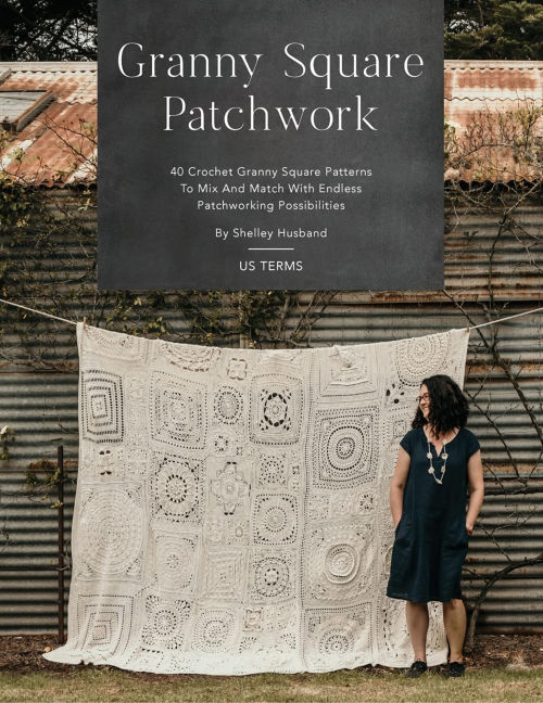 [Book: 'Granny Square Patchwork' by Shelley Husband]