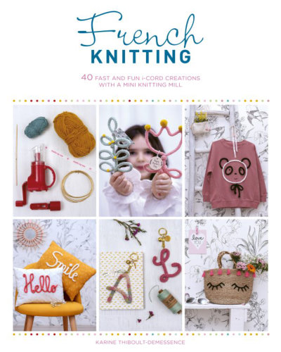 [Book: 'French Knitting' by Karine Thiboult-Demessence]