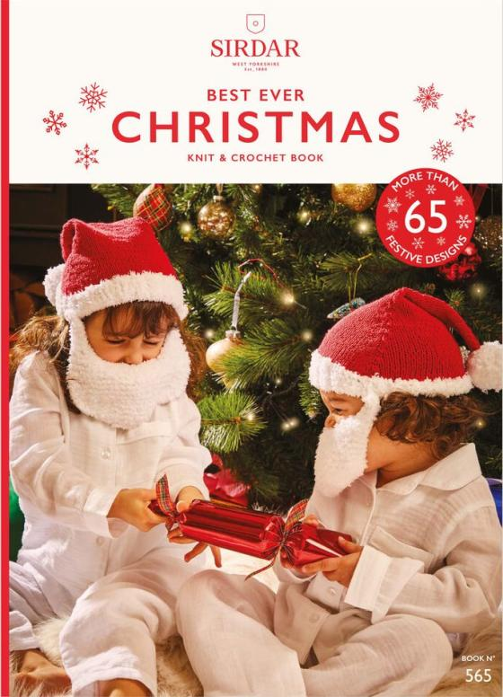 [Book: 'Best Ever Christmas' by Sirdar designers]
