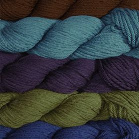 A list of potential substitutes, if you can't get hold of Knit Picks Merino Style. Each suggested alternative has detailed advice and warnings about any differences.