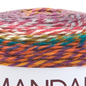 Photo of 'Mandala Tweed Stripes' yarn