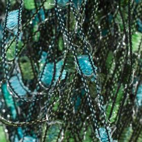 Photo of 'Firefly Metallic' yarn