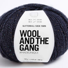 Photo of 'Glitterball Sock Yarn' yarn
